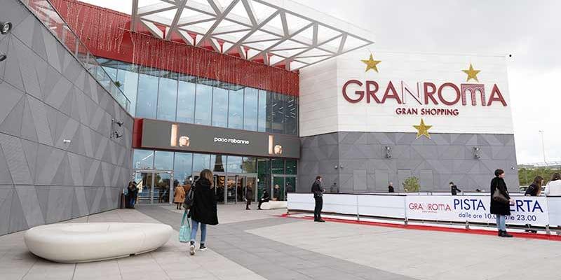 Campagna Pubblicitaria Paco Rabanne - centro commerciale Gran Roma