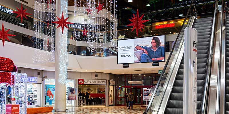 campagna pubblicitaria Calvin Klein Palladio