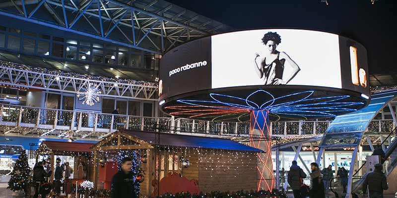 Campagna Pubblicitaria Paco Rabanne - BLOOM - Centro Commerciale Meridiana