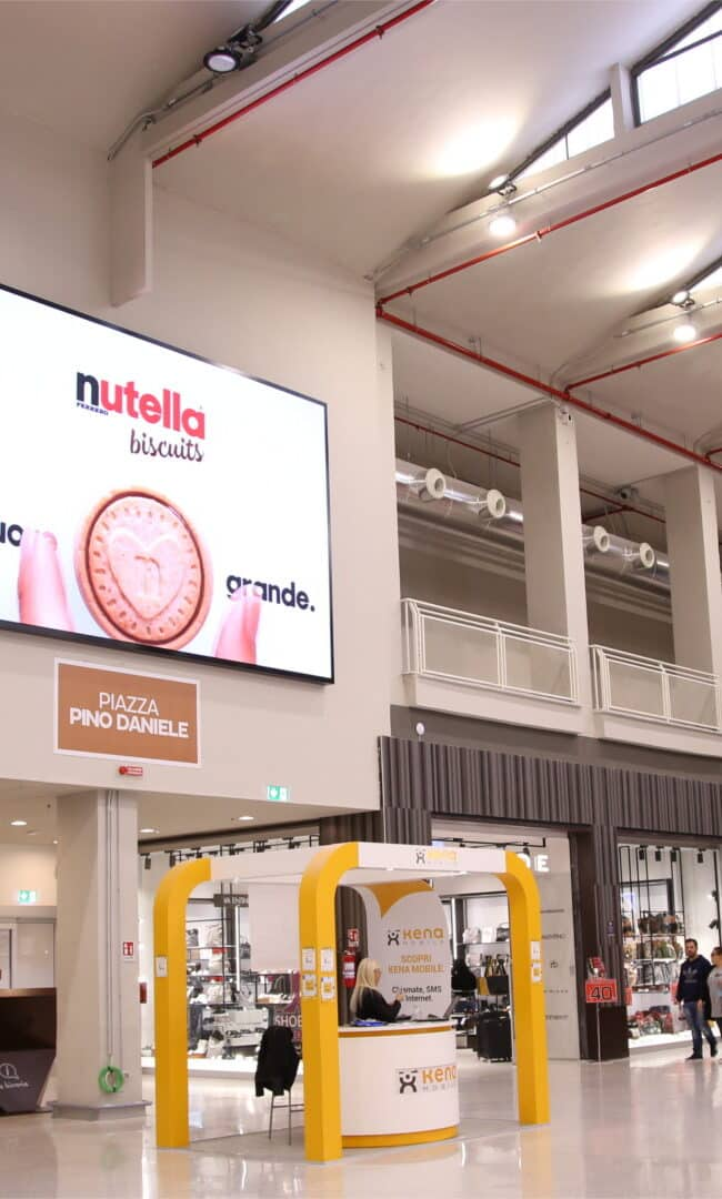 Campagna Pubblicitaria Nutella Biscuits - Ferrero