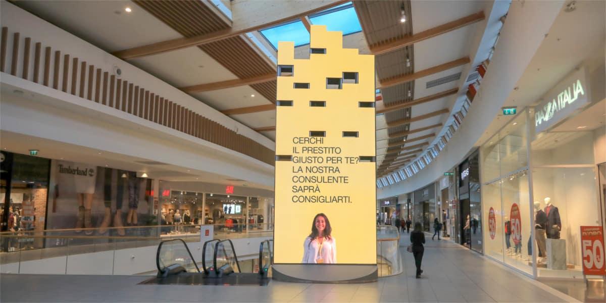 Campagna Pubblicitaria Poste Italiane - Centro Commerciale Tiare Shopping