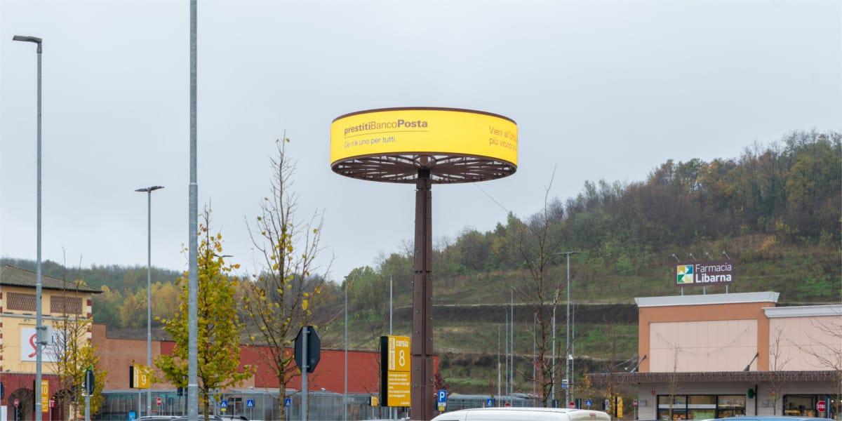 campagna pubblicitaria poste italiane - Serravalle Retail Park