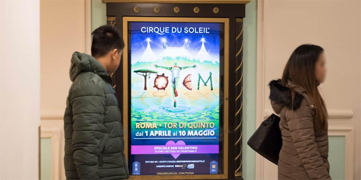 Campagna Pubblicitaria Vivo Concerti centro commerciale Euroma2