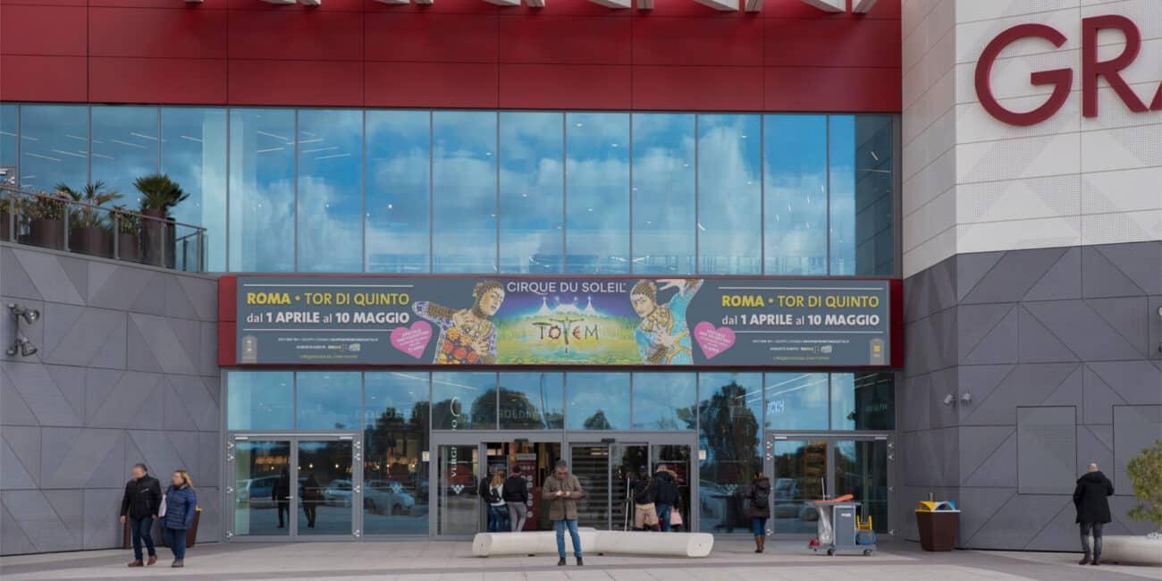 Campagna Pubblicitaria Vivo Concerti - Centro Commerciale Gran Rotta