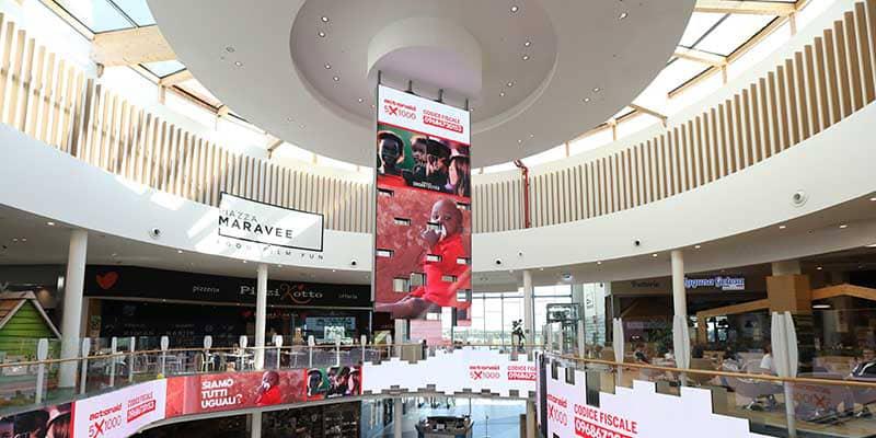 Campagna Pubblicitaria Action Aid - Centro Commerciale Tiare Shopping