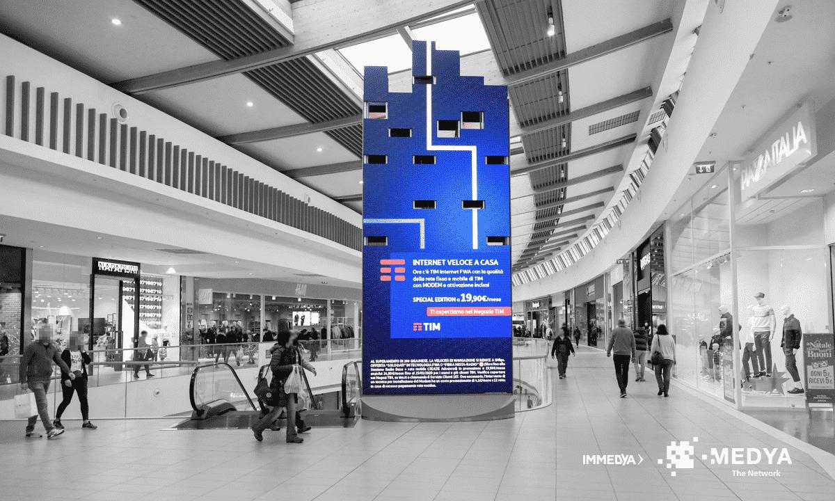 Campagna Pubblicitaria TIM - Centro Commerciale Tiare Shopping